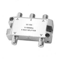 Делитель эфирный GC-1204P 1х4