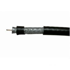 Кабель RG-6 Cu 96 AL черный внешний Simore (Remee) 1/100/4