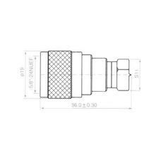 Переход F(male) - N(male) медь H3016