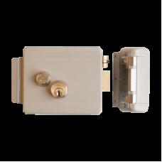 Замок электромеханический накладной FE-2369i (iron) блокируемая кнопка выхода