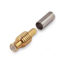 Разъём 11-111L MCX(male) обжимной под кабель RG174 и RG316