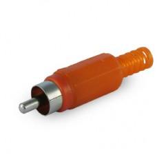 Штекер 7-0206 RCA (пластик)